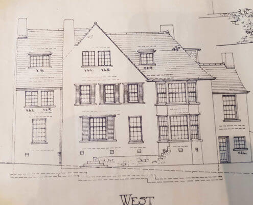 Heanor Surveyors. Building Plan of an old traditional house